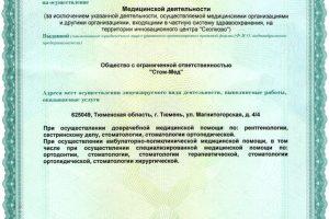 новая лицензия лист 2